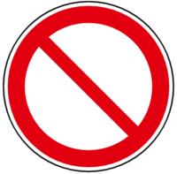 unbefugten betreten verboten schild